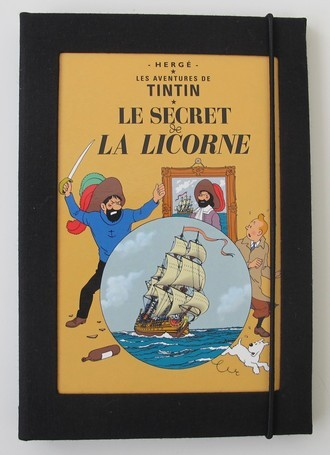Capa Kindle Tintin Secret de la Licorne (Segredo do Licorne)