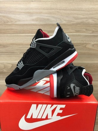 [38-43] Air Jordan 4 Retro Bred