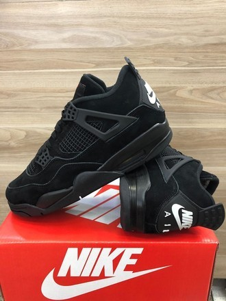 [38-43] Air Jordan 4 Black Cat
