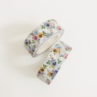 Washi Tape Floral Candy