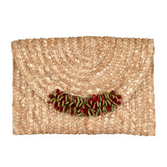 CLUTCH NATURAL E FATIAS DE MELANCIA