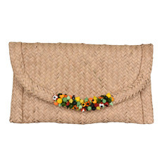 CLUTCH NATURAL E MIX COLORIDO