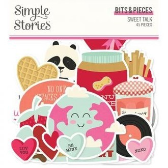 BITS & PIECES - SWEET TALK - SIMPLE STORIES