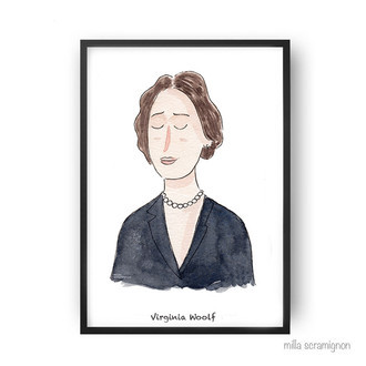 Pôster Virginia Woolf