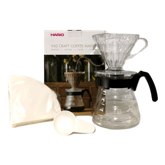 Kit Hario V60 + Caneca True + Café