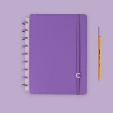 Caderno All Purple - Médio - Caderno Inteligente