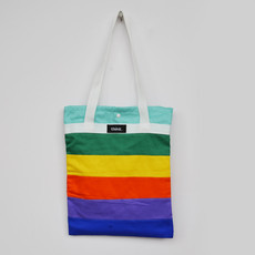 Eco Bag Rainbow tons pasteis