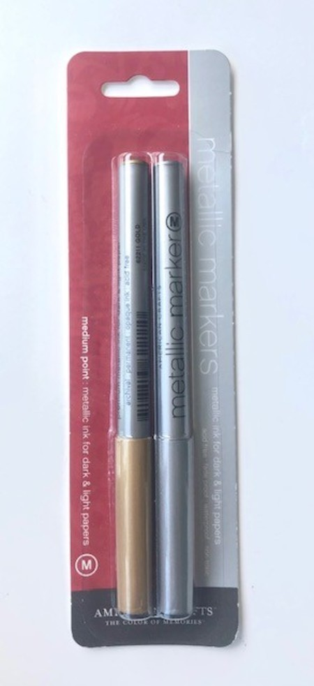 Metallic Markers - American Crafts