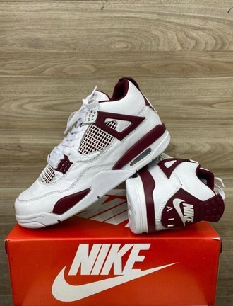 [38-43] Air Jordan 4 Bordô