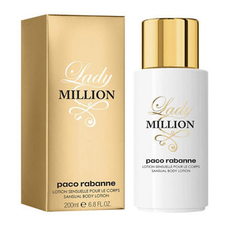 Lady Million Body Lotion Paco Rabanne - Loção Perfumada para o Corpo