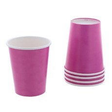 Copo de Papel Pink 200 ml