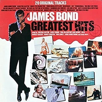 James Bond - Greatest Hits: 20 original tracks LP (zerado)