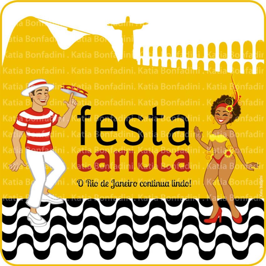 Kit Digital Festa Carioca Boteco Carioca Coisas Da Bonfa