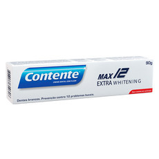 Creme Dental Contente Max 12 Extra Whitening - 90g