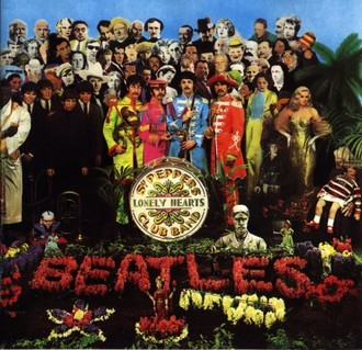 The Beatles - Sgt. Peppers Lonely Hearts Club Band LP (Odeon/stereo)