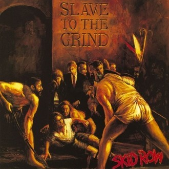 Skid Row - Slave to the grind LP (excelente estado)