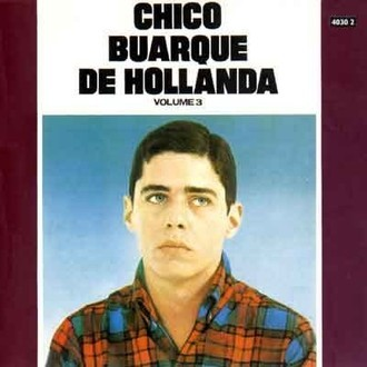 Chico Buarque - Chico Buarque de Hollanda vol. 3 LP (original RGE)