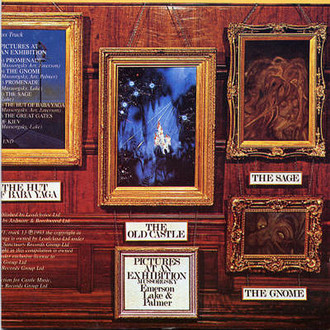 Emerson, Lake e Palmer - Pictures at an Exhibition LP