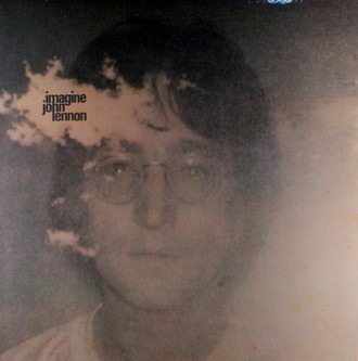 John Lennon - Imagine LP (vinil com marcas)