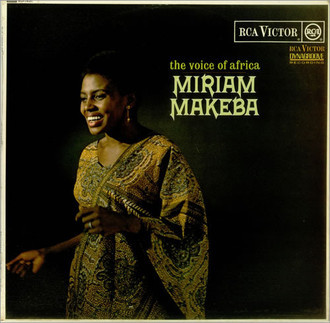 Miriam Makeba - the voice of Africa LP