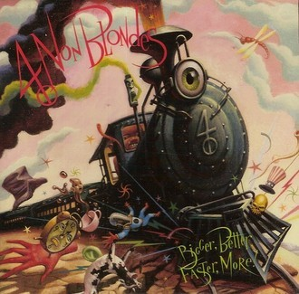 4 non Blondes - Bigger, better, faster, more! LP (ver fotos da capa)