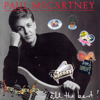 Paul McCartney - all the best! LP duplo (ótimo estado/com encartes)