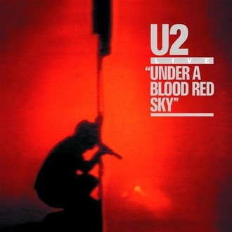 U2 - under a red blood red sky LP