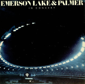 Emerson, Lake & Palmer - in concert LP (imp. USA)