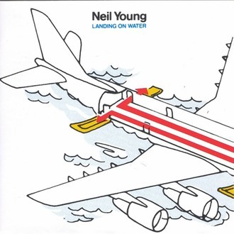 Neil Young - Landing on Water LP (excelente estado)