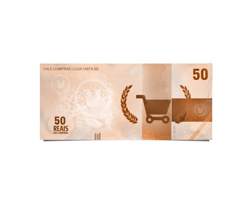 9542ef3f8 Vale-compras de R$ 50,00 - Loja Vista-se
