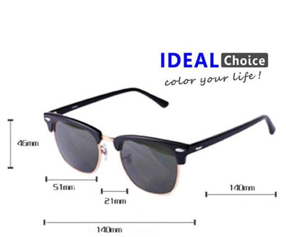 Óculos de Sol Unissex Retrô Star Master - Branco   Preto Camisetas e ... f4037aec69