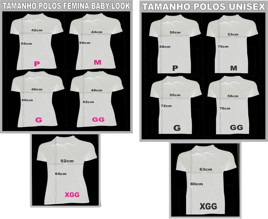 696aefdfd2 ... produzida em tecido piquet o melhor para camisas polo