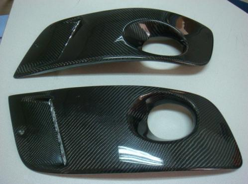 Carbon Fiber Fog Light Driving Light Covers for 2006-2009 Volkswagen Golf 5 GTI