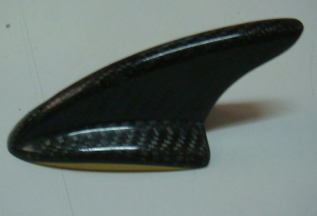 Universal Carbon Fiber <em>Car</em> Auto Sharq Fin Decorative Antenna Benz Lotus BMW #006