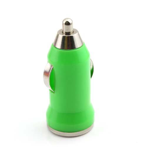 Universal Mini USB <em>Car</em> DC Charger for Cell Phone Tablet MP3 MP4 (Color GREEN)