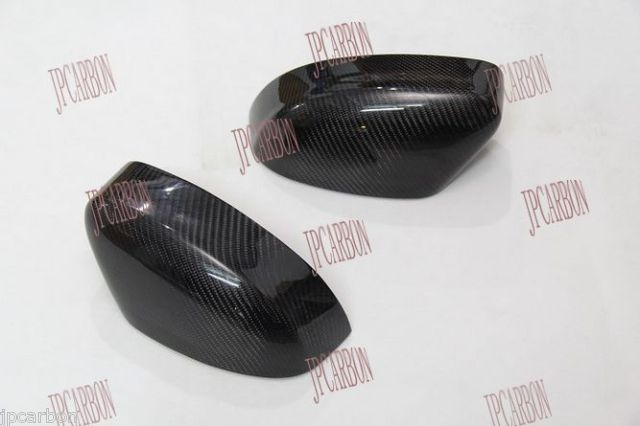 Carbon Fiber Side Review Mirror Covers for 2012-2013 Ford Focus