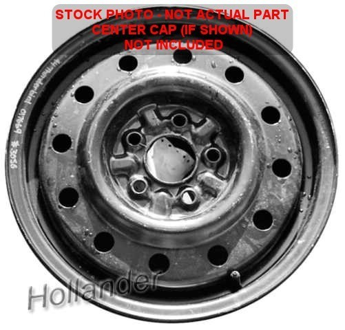 1997 FORD TAURUS COMPACT <em>SPARE</em> <em>TIRE</em> WHEEL RIM 15x4 STEEL 2464327