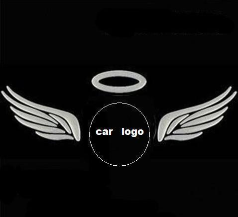 3D Decal Eagle wings Rear Trunk Logo Angel <em>Car</em> Emblem Logo Sticker Make Kit