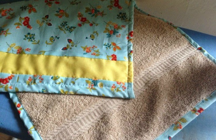 towel changing pad