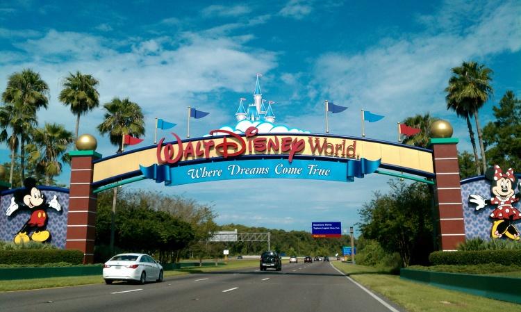 Image of Disney World entrance.