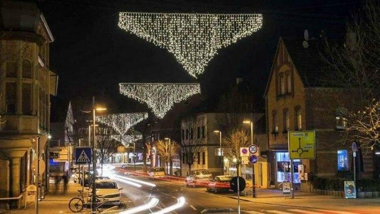 Christmas lights that look like underwear.
