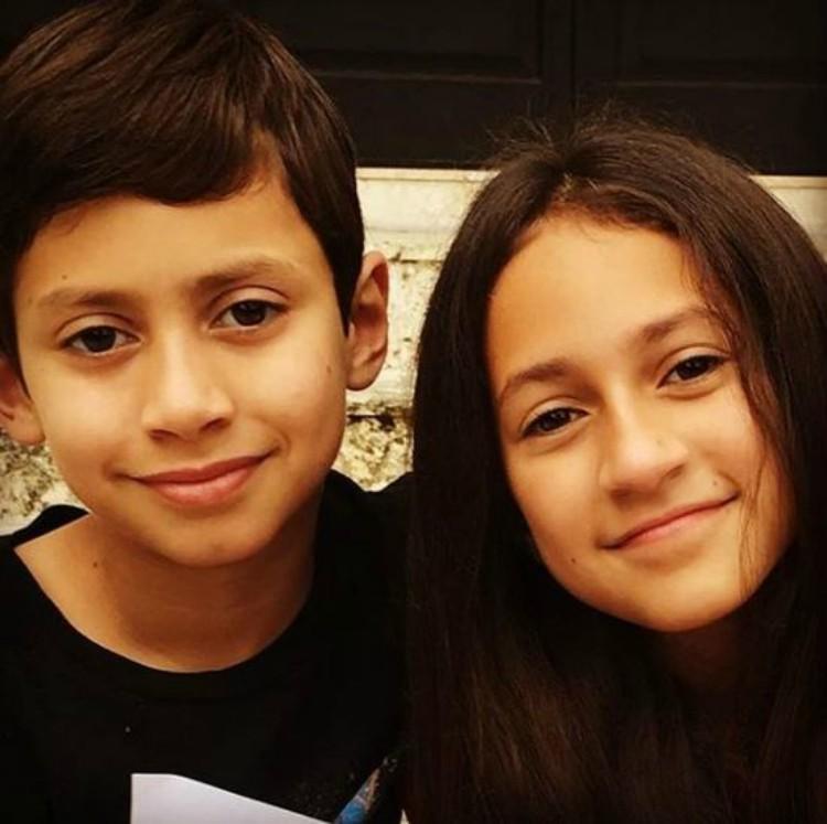 Image of Jennifer Lopez's children