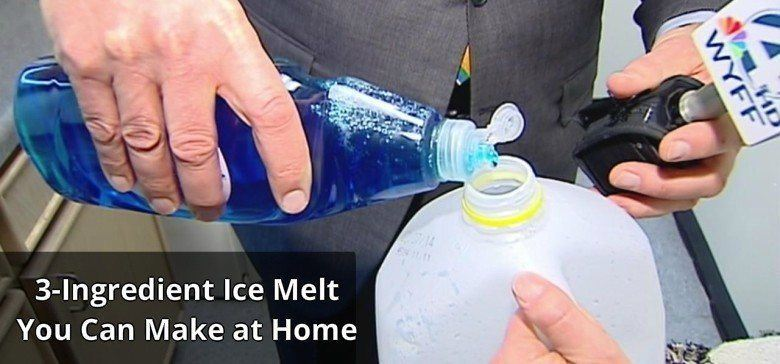3 Ingredient Ice Melt