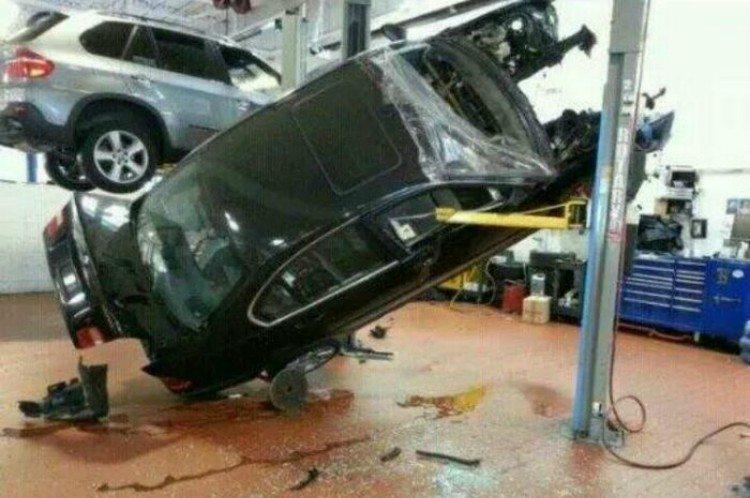 bad day car drop