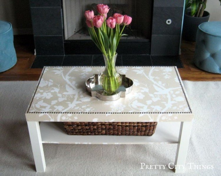 Flowered Coffee Table