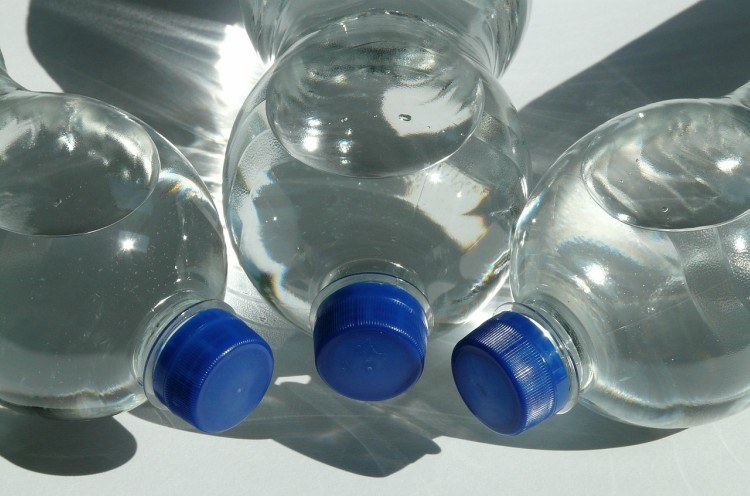 Pic of water bottles.