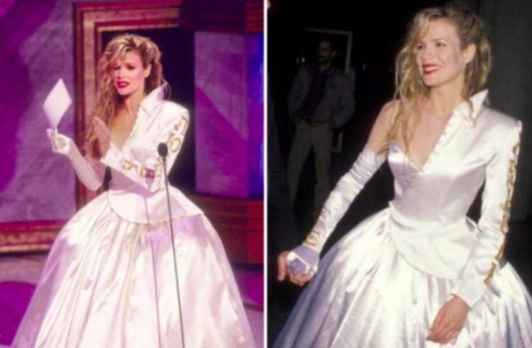 Kim Bassinger Oscars dress