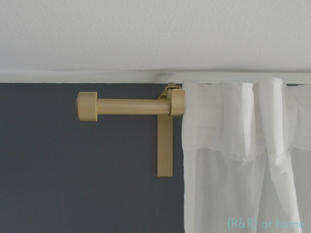 Curtain Rod Upgrade