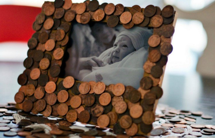 penny picture frame