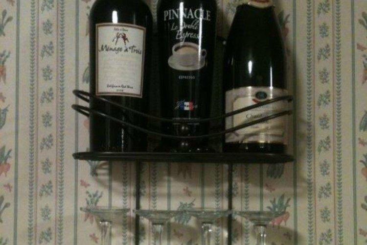 caddy wine rack